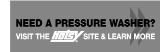 Need a Pressure Washer? - Visit the Hotsy site & learn more